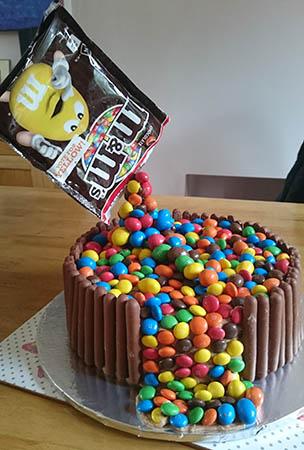 Anti Gravity Chocolate Birthday Cake Shhdonttellhim